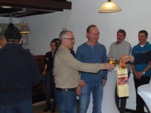 Dieter Lakowitz, Benito Girolami und Frank Hackenberger