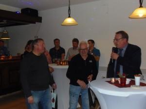 Rolf Benz und Siegbert Dabernig